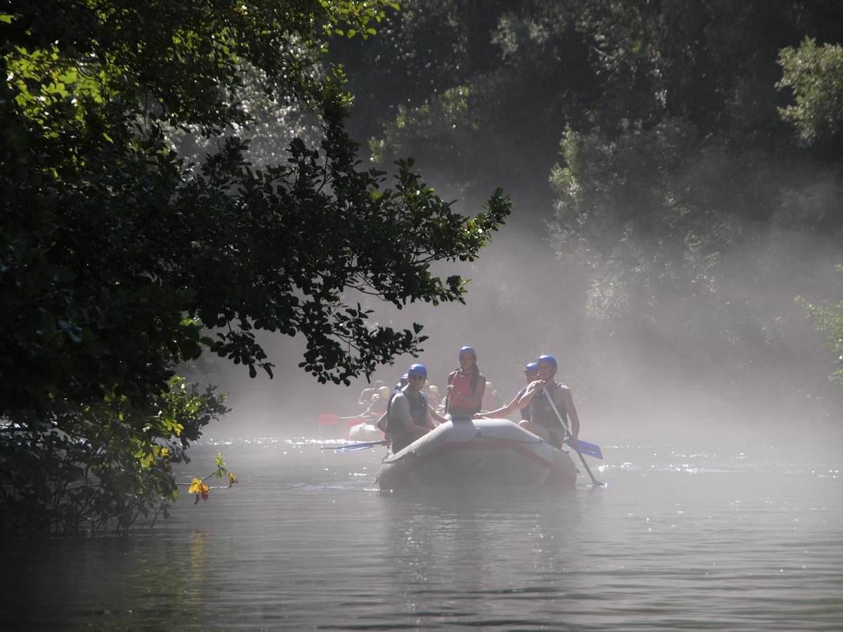 rafting fog Cetina